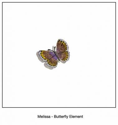 Casart_Melissa Butterfly Detail_11x