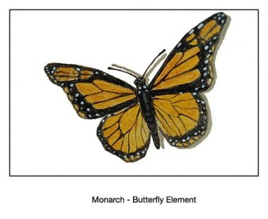 Casart_Monarch Butterfly Detail_12x