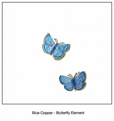 Casart_Blue Copper Butterfly Detail_16x