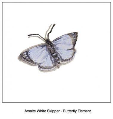 Casart_Arsalte White Skipper Butterfly Detail_3x