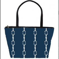 Casart coverings_Cotillion-navy-carryall