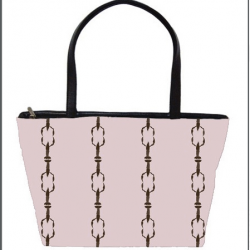 Casart coverings_Cotillion-pink-brown-carryall