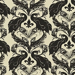 Casart coverings Down/Anise French Peacock Damask_Patterns_2