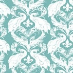 Casart coverigns Azure White French Peacock Damask_Patterns_5
