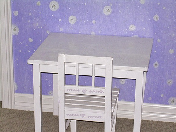 Casart Fireflies Pattern removable wallpaper in childs room