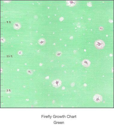 Casart Fireflies light green detail growth chart - T3 Colection