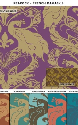 Casart coverings French Damask_sample3_Patterns