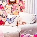Casart Flower Power_Botanicals_ Elderly Bedroom View