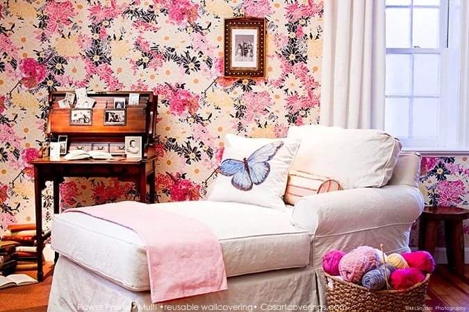Casart Flower Power_Botanicals_ Elderly Bedroom View