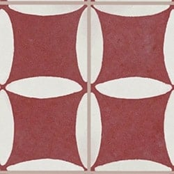 Casart Coverings Red & White Hahah removable wallpaper MoRockAnSoul Collection_3