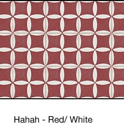 Casart coverings Red & White Hahah_wallcovering_MoRockAnSoulCollection_3x