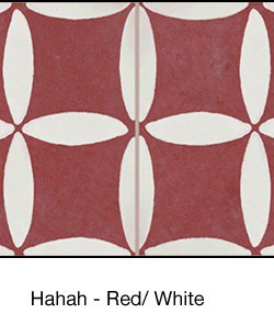 Casart coverings Red & White Hahah_backsplash_MoRockAnSoulCollection_3x