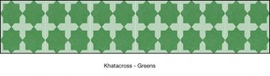 Casart coverings Green Khatacross-temporary wallpaper_MoRockAnSoul_2x
