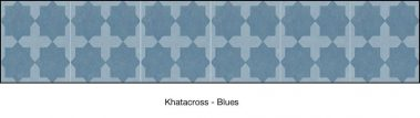 Casart coverings Blue Khatacross-wallcovering_MaoRockAnSoul_1x