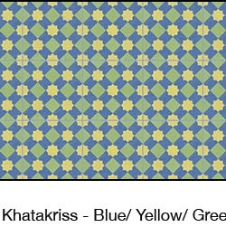 Casart coverings Blue & Yellow & Green Khatakriss_wallcovering_MoRockAnSoul_1x