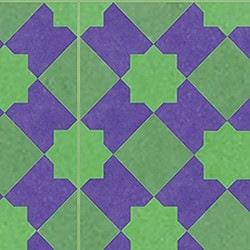 Casart coverings Purple & Green Khatakriss_wallcovering_MoRockAnSoul_3