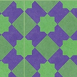 Casart coverings Purple & Green Khatakriss_wallcovering_MoRockAnSoul_3