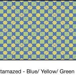 Casart coverings Blue & Yellow & Green Khatamazed_wallcovering_MoRockAnSoul_1x