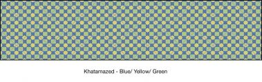 Casart coverings Blue & Yellow & Green Khatamazed_wallcovering_MoRockAnSoul_1x
