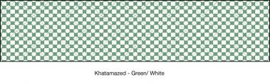 Casart coverings Green & White Khatamazed_wallcovering_MoRockAnSoul_4x