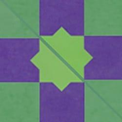 Casart coverings Purple & Green Khatamazed_Backsplash_MoRockAnSoul_3