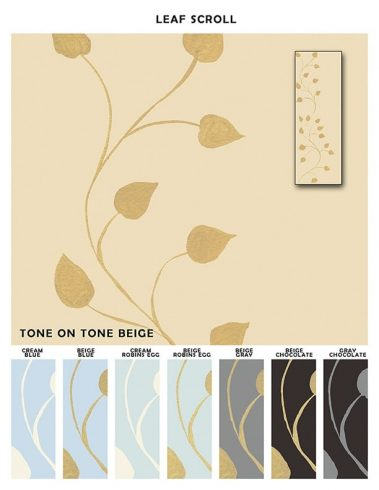 Casart coverings_Leaf-Scroll-Border-Sample_Botanicals_X