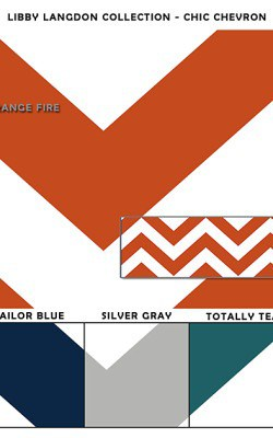 Casart coverings Libby Langdon_sample_Chic-Chevron