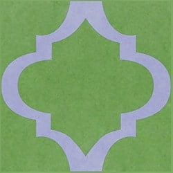 Casart coverings Green & Lavender MoRockAnArch_1