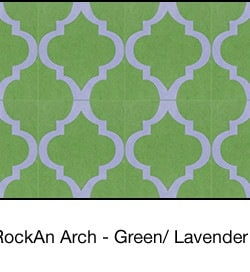 Casart coverings Green & Lavender MoRockAnArch_wallcovering_1x