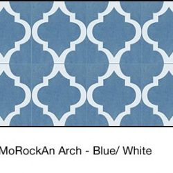Casart coverings Blue & White MoRockAnArch_wallcoverings_3x