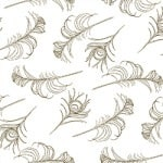 Casart coverings White/Cinnamon Quill_Patterns_1