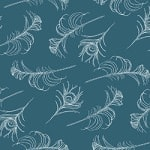 Casart coverings Indigo/White Quill_Patterns_10
