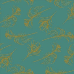 Casart coverings Plume/Turmeric Quill_Patterns_13