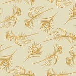 Casart coverings Down/Turmeric Quill_Patterns_3