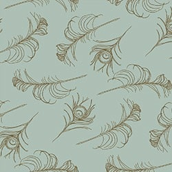 Casart coverings Sage/Cinnamon Quill_Patterns_5
