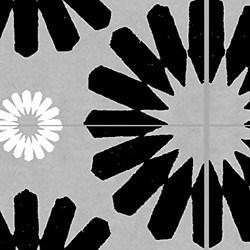 Casart coverings Black & Grey & White Spinwheel_MoRockAnSoul_1