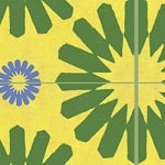 Casart coverings Green & Yellow & Blue Spinwheel MoRockAnSoul 3
