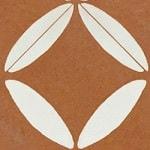 Casart coverings Rust & White XOXO_StairRiser_MoRockAnSoul_1x