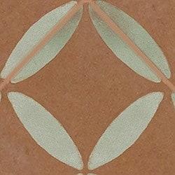 Casart coverings Rust & Mint XOXO_backsplash_MoRockAnSoul_4