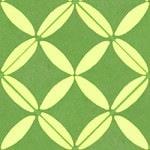 Casart coverings Green & Yellow XOXO_wallcovering_MoRockAnSoul_2
