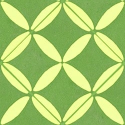 Casart coverings Green & Yellow XOXO_wallcovering_MoRockAnSoul_2