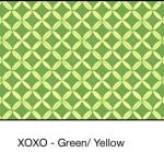 Casart coverings Green & Yellow XOXO_wallcovering_MoRockAnSoul_2x