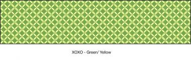 Casart coverings Green & Yellow XOXO_wallcovering_MoRockAnSoul_2x