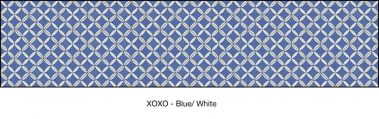 Casart coverings Blue & White XOXO_wallcovering_MoRockAnSoul_3x