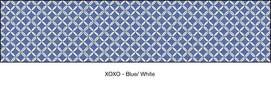 Casart coverings Blue & White XOXO_wallcovering_MoRockAnSoul_3x