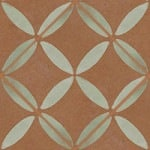 Casart coverings Rust & Mint XOXO_wallcovering_MoRockAnSoul_4