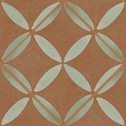 Casart coverings Rust & Mint XOXO_wallcovering_MoRockAnSoul_4