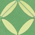 Casart coverings Green & Yellow XOXO_StairRiser_MoRockAnSoul_2