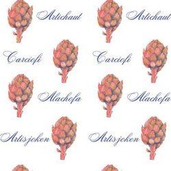 Casart coverings Artichaut Pattern temporary wallpaper