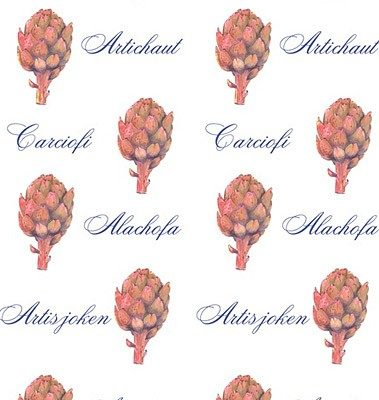 Casart coverings Artichaut Pattern temporary wallpaper